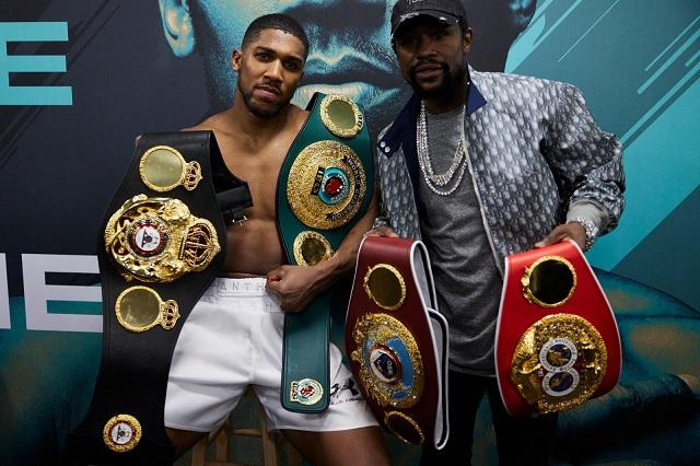 Sin fecha ni lugar, Anthony Joshua y Tyson Fury acuerdan peleas de unificación