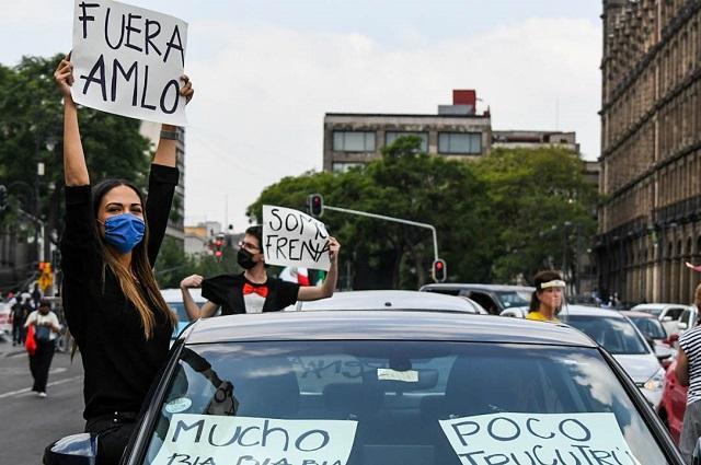 Anti AMLO anuncian plantones frente a oficinas de gobierno