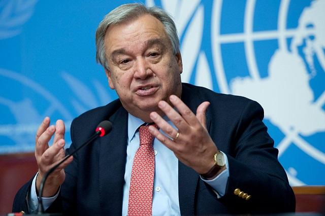 Pide ONU tregua mundial para unir fuerzas contra el Covid-19