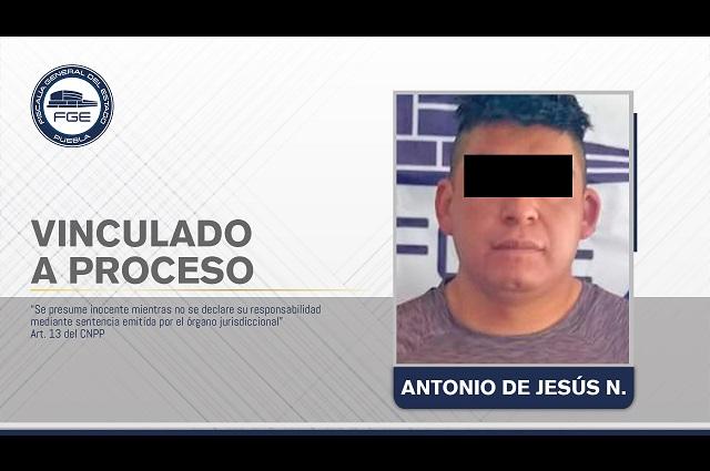 Vinculación a proceso para presunto feminicida de Tecali