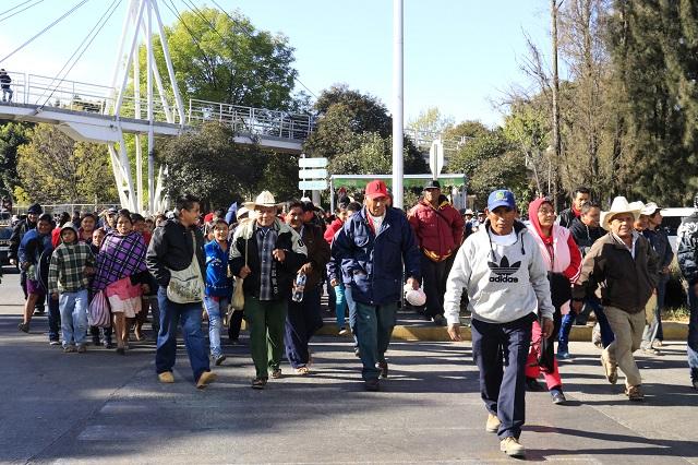 Antorchistas cierran Finanzas; exigen se ejecuten obras en colonias