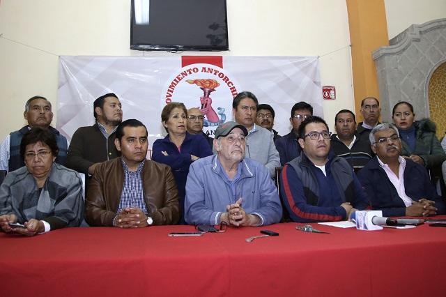 Con juicio y marchas, Antorcha exigirá registro como partido