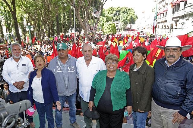 Antorcha va por gubernatura de Puebla aunque no sea partido
