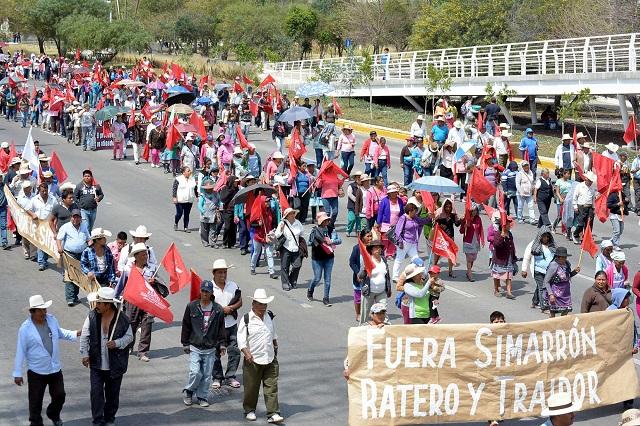 Antorcha saqueó presidencia de Ocoyucan, acusa centro de DH