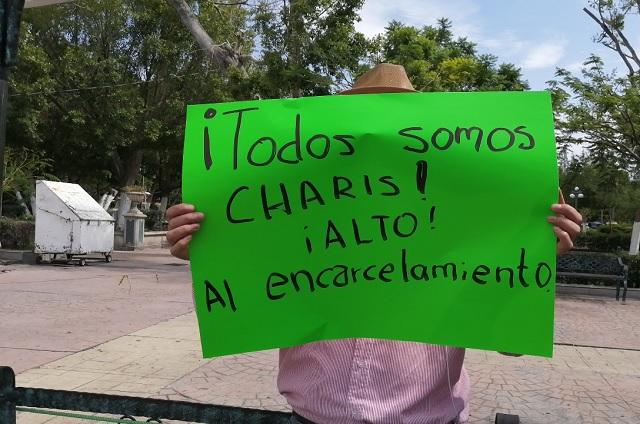 Antorchistas de Tehuacán se manifiestan en defensa de su líder