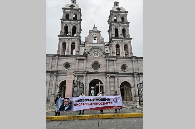 Antorchistas en Teziutlán dicen que se orquesta persecución en su contra