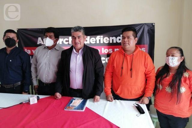 Antorcha acusa imposiciones en Huitzilan y Ocoyucan