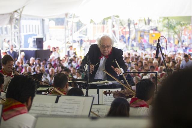 Anuncian concierto de gala Sinfonía Vapor en Puebla