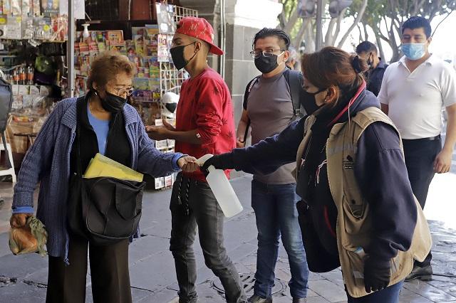Puebla en octavo lugar con menor movilidad ante el Covid-19