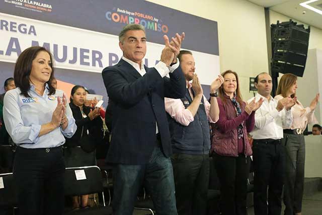 Triplica Puebla dinero para reconstrucción y llega a 2,100 mdp