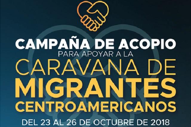 Ibero abre centro de acopio para la Caravana Migrante