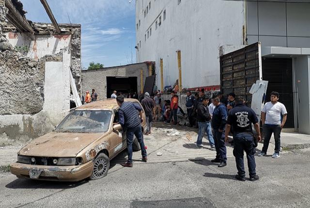 Piden apoyo policiaco para desalojar vivienda en Analco