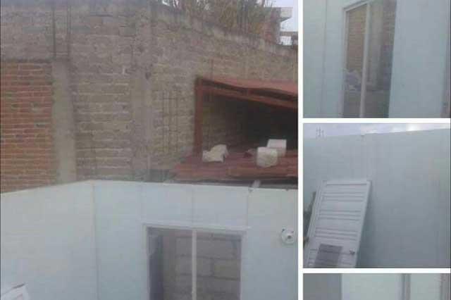 Venden por Facebook cuartos entregados por la Federación en Puebla