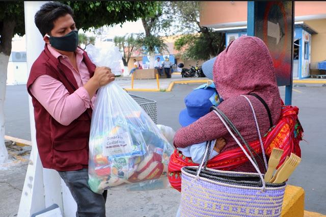 Apoya SEDIF a familias vulnerables en contingencia sanitaria