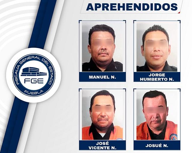 Confirma FGE caída de 4 elementos de Protección Civil de Amozoc