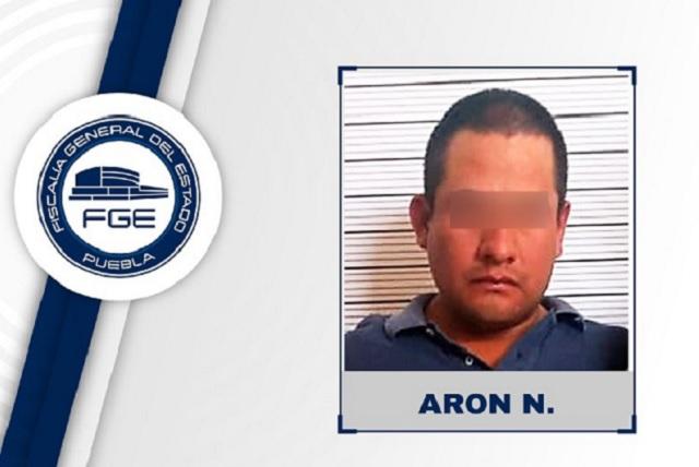 Presunto homicida fue aprehendido por la Fiscalía de Puebla
