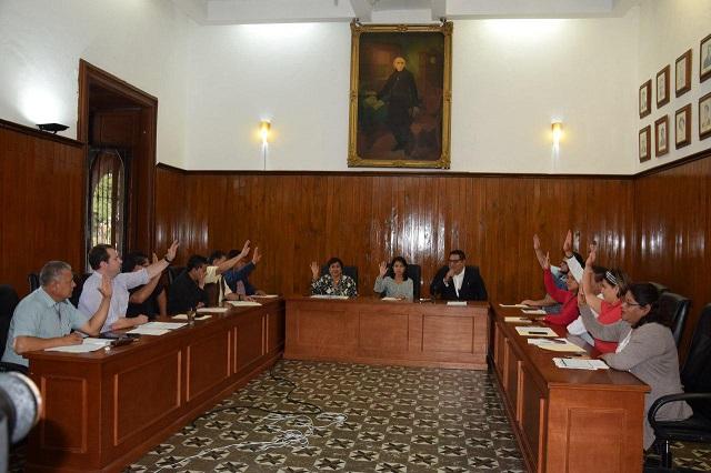 Aprueban regidores de San Pedro Cholula sustitución de Secretario General