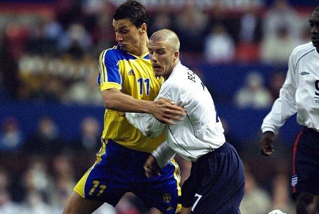 Zlatan Ibrahimovic lanza apuesta a David Beckham