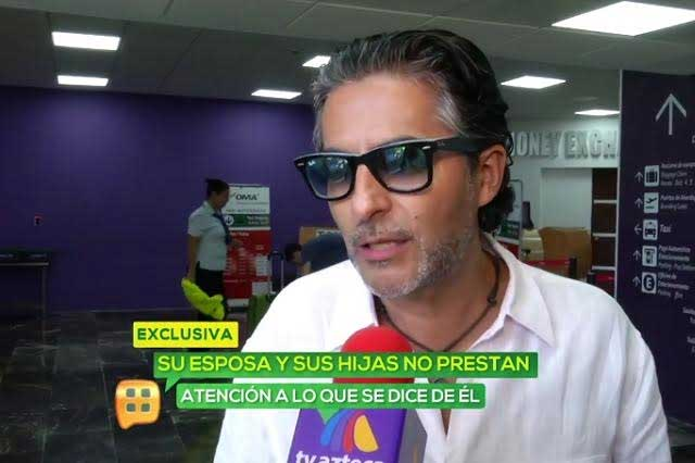 Raúl Araiza expresa que su matrimonio superó la crisis