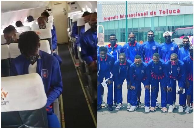 Sí se pudo: Arcahaie de Haití arribó a México para enfrentar a Cruz Azul