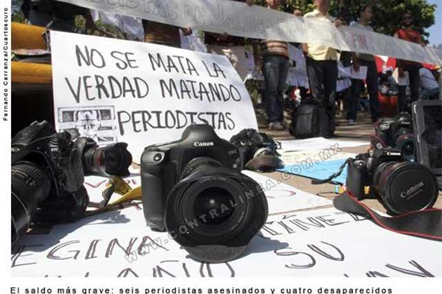 México y Cuba, entre los países más peligrosos para periodistas