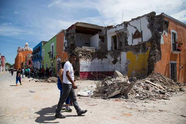Destinarán 120 mp en apoyo a familias que perdieron su vivienda