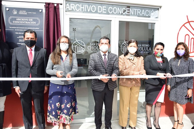 Archivo de Concentración distingue a San Pedro Cholula