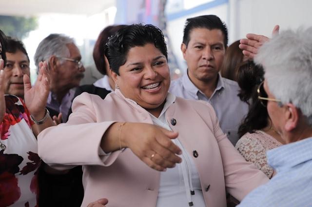 Karina Popoca apoya a familias de pacientes con Covid