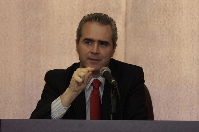 Negar candidatura de Aranda no abona a la democracia: Baños Ardavín