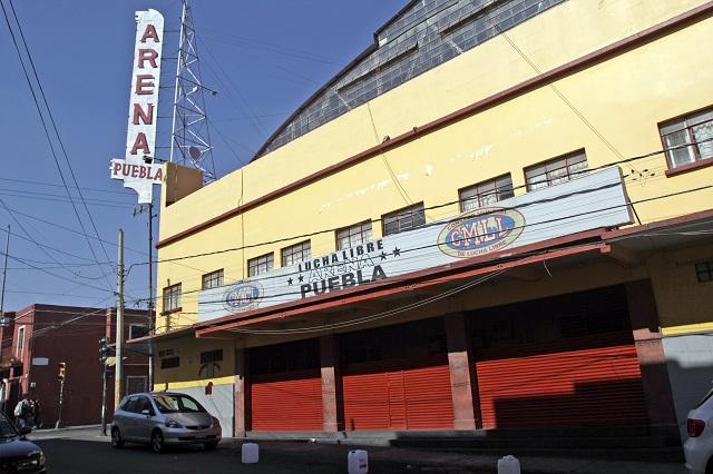Roban 230 mil pesos de las entradas a la Arena Puebla