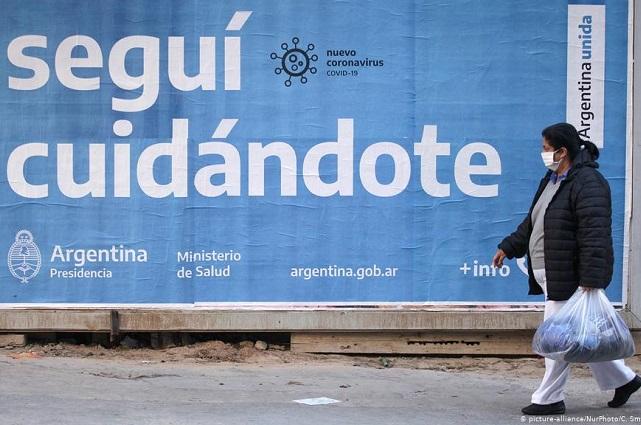 Argentina supera 100 mil muertes por Covid