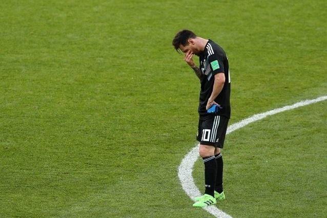 Los goles del empate entre Argentina vs Islandia y el penal fallado de Messi