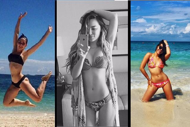 En guerra de bikinis, Belinda vence a Danna Paola y Ariadne Díaz