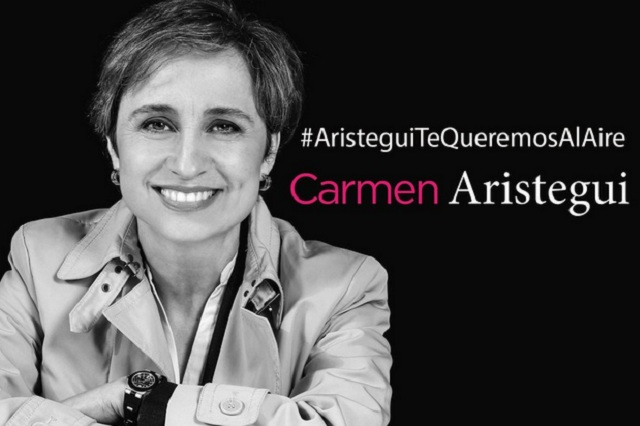 A un año de su despido, piden regreso de Carmen Aristegui a la radio