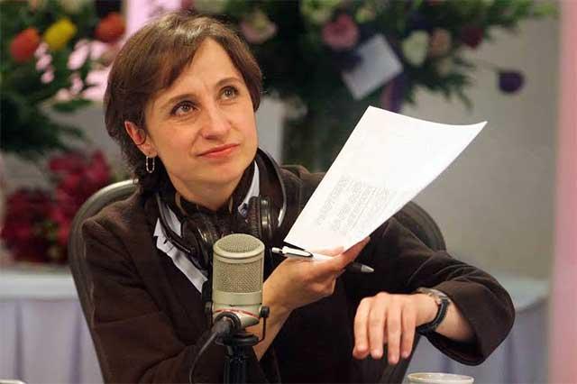 PRD quiere a Aristegui en el Constituyente; ella niega invitación