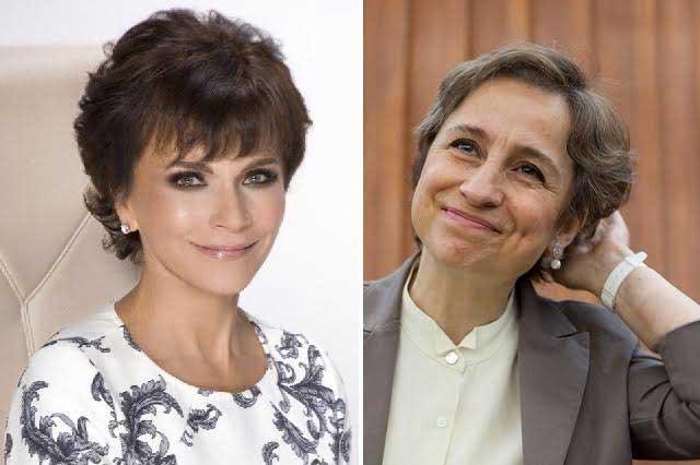 Charla entre Carmen Aristegui y Pati Chapoy alborota las redes sociales