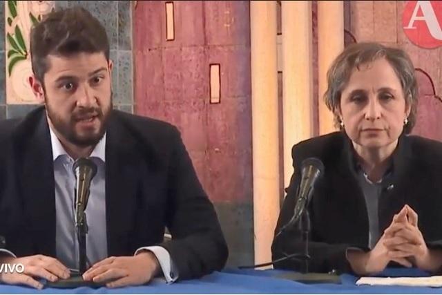 Celebran en redes el regreso de Carmen Aristegui a la radio