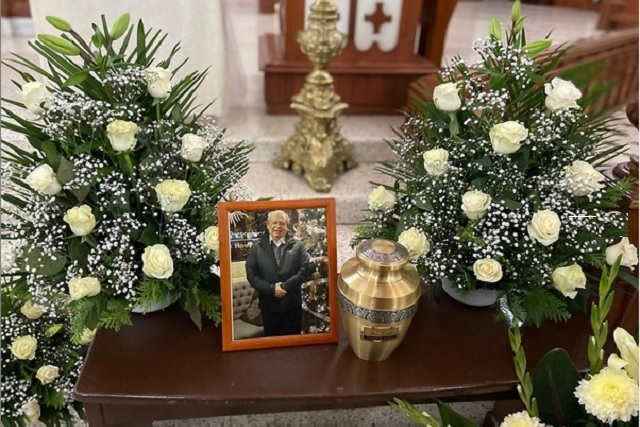 Arleth Terán da el último adiós a su padre con emotivas palabras