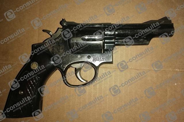 Detienen a sujeto por portación de arma de fuego en Xicotepec