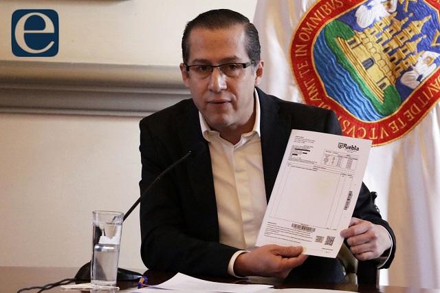 Salida de contador deja dudas en finanzas de la capital: Barbosa