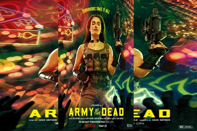 Nuevos posters de Army Of The Dead, la nueva película de Zack Snyder