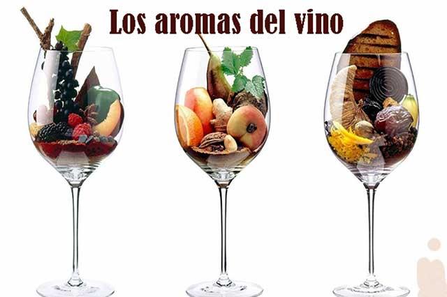 Los aromas del vino como los del perfume