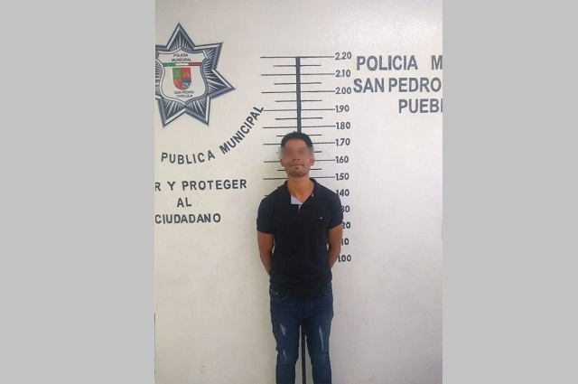 Detienen a ladrón en la zona arqueológica de San Pedro Cholula