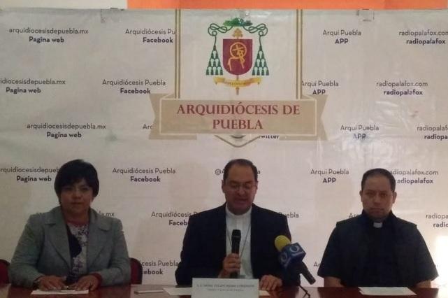 Arquidiócesis realiza recorrido con reliquias de santa francesa
