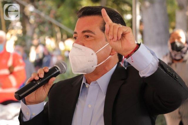 Luis Alberto Arriaga quiere ser dirigente estatal de Morena