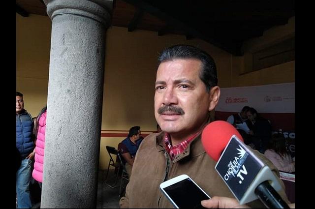 Edil de San Pedro Cholula prepara revisión a policías