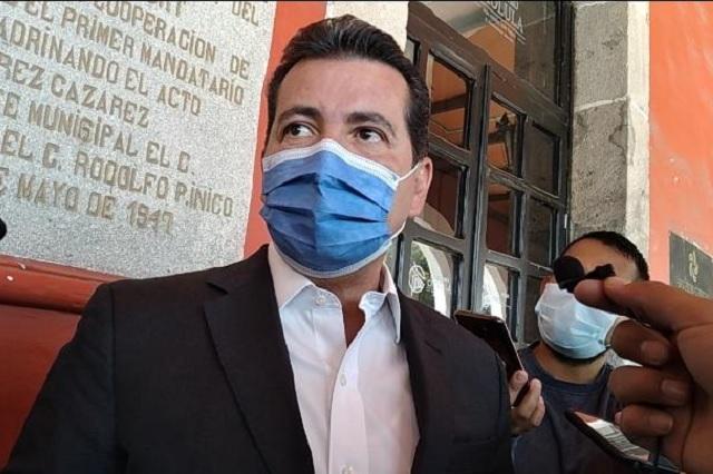 Arriaga habla sobre posible reelección a la alcaldía de San Pedro