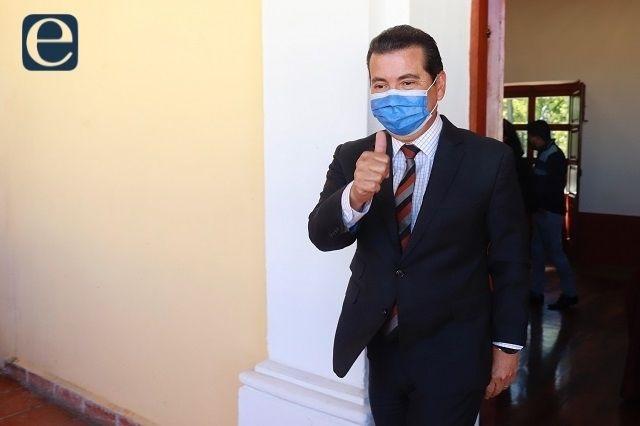Armenta acusa a Arriaga de dar recursos públicos al PAN