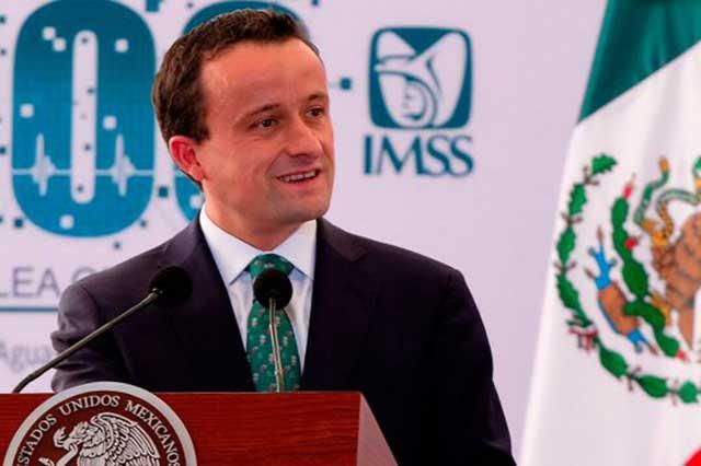 Mikel Arriola dejará el IMSS y buscará la gubernatura de la CDMX