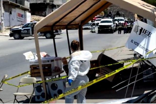 Arrojan una cabeza humana en casilla electoral en Tijuana